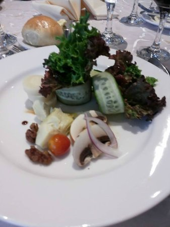 Sheraton Grand Panama: salad
