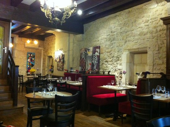 Restaurant Le Bacchus: salle du bas
