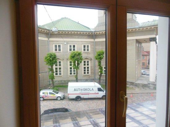 Hanza Hotel: Panorama dalla camera