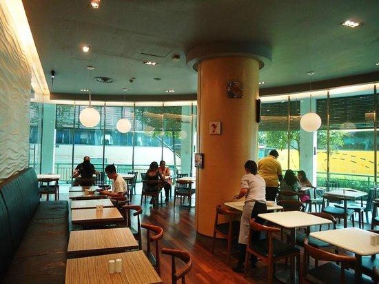 Aqueen Hotel Lavender: restaurant