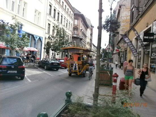 Connection Guesthouse : The party bike, goin dawn at Király utca