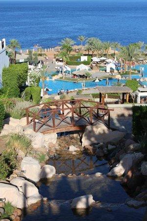 Hilton Sharm Waterfalls Resort: Вот такой вот прекрасный вид))))0