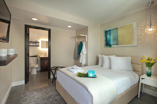 Hotel Aqua Mar: Queen bedded room