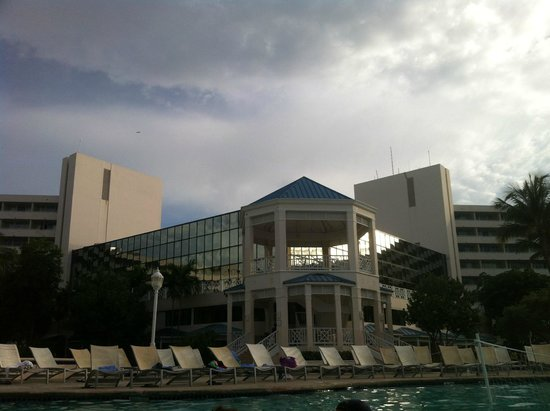 Melia Nassau Beach - All Inclusive: View from Water