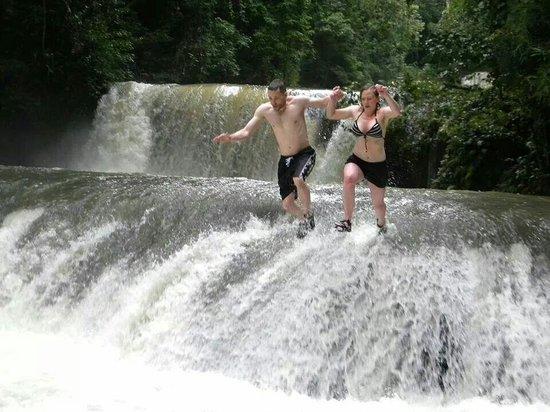 YS Falls: Take the leap!