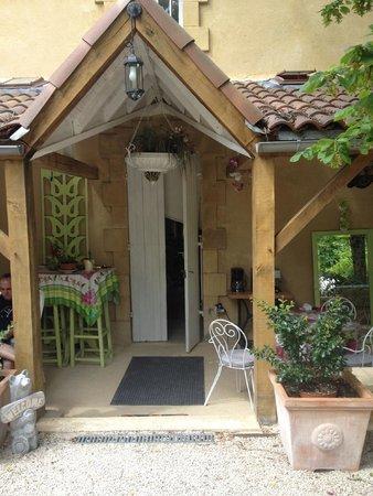 Les Trois Jardins: Entrance