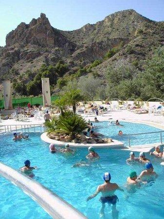 piscinas termalium del balneario de archena picture of