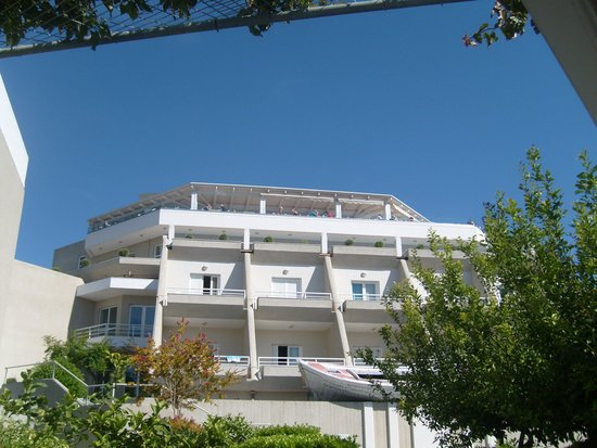 Proteas Blu Resort: Main building including Panarama Restaurant