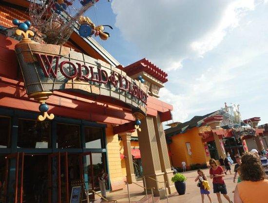 Entrada de World of Disney