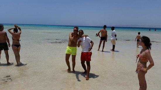 Blue Reef Red Sea Resort : sasy e abdo sharm el luli