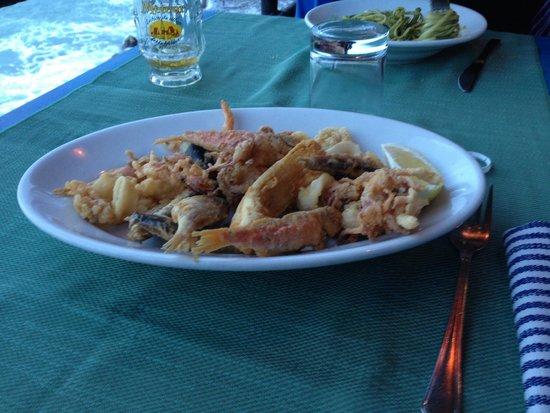 Ciccillo a Mare: Mistura di pesce fritto..!!