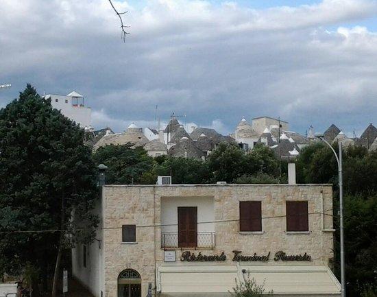 I Trulli di Alberobello - World Heritage Site: vista dei trulli