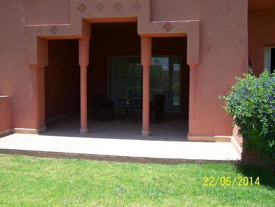 SENTIDO Kenzi Menara Palace: Terrasse de la suite