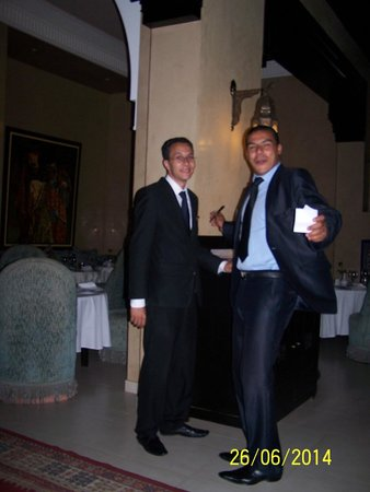 SENTIDO Kenzi Menara Palace: Karim et Jalil - 2 êtres exceptionnels