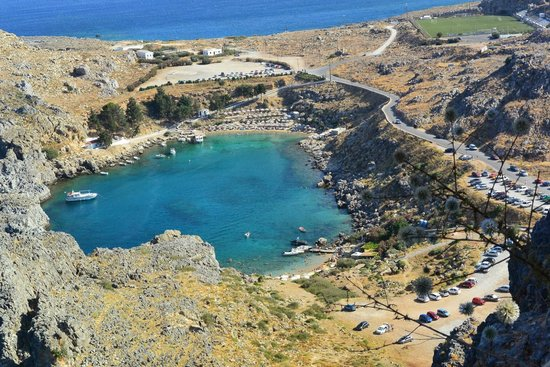 St Pauls Bay Lindos Greece