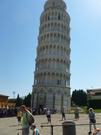 La tour de Pise (Campanile) : Is it me , Im falling for Pisa