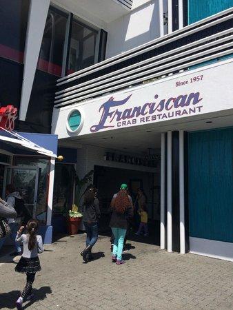 Franciscan Crab Restaurant : Entrada do restaurante