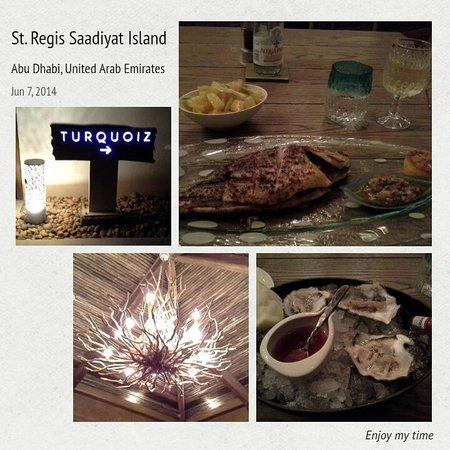 """The St. Regis Saadiyat Island Resort: Seafood Restaurant """"Turquoiz"""""""