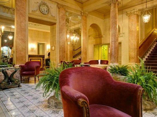 Hotel Beau-Rivage Geneva: Beau-Rivage Lobby