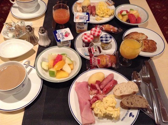 Hotel Queen Mary : 朝食