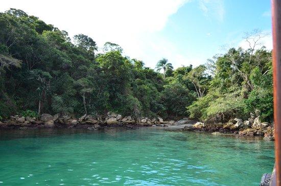 Lagoa Azul : Vista da escuna