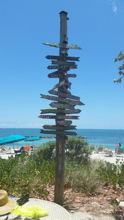 Fort Zachary Taylor Historic State Park : From here to there