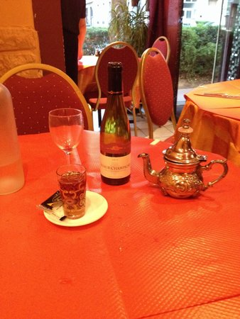 Lea : Il mint tea é buono