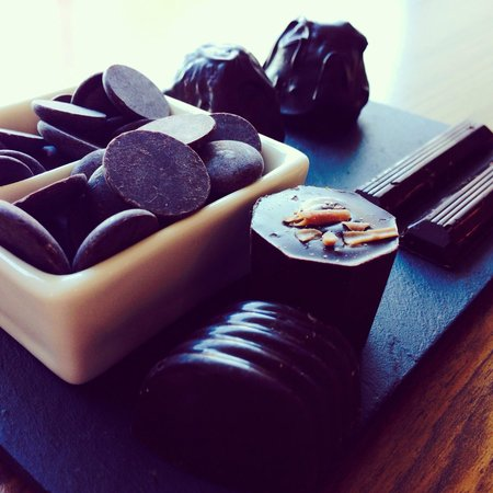 Oban Chocolate Company: Chocolate plate
