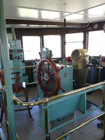 S.S. William A. Irvin Ore Boat Museum: The Captain's Bridge