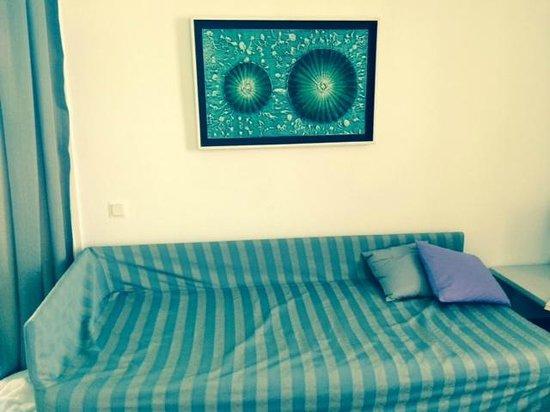 Astir of Paros : Dated furnishings in Exec Suite