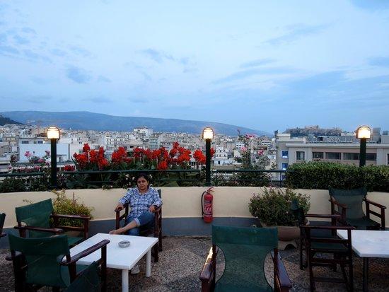 Stanley Hotel: roof top restaurant