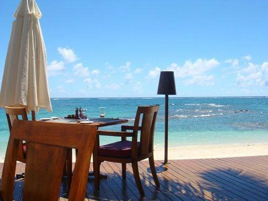 Constance Belle Mare Plage : La Spiaggia restaurant