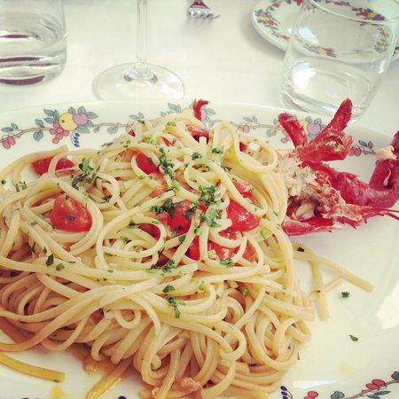 Terrazza Brunella : Spaghetti astice