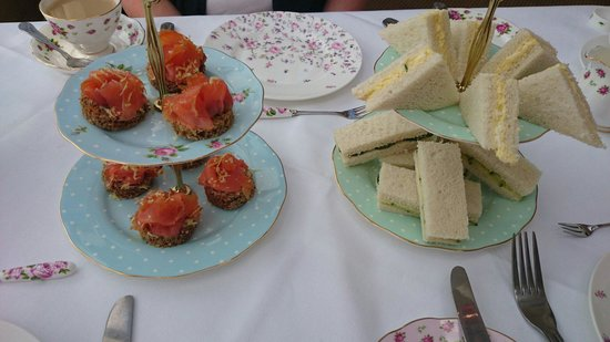 Ariel House: Afternoon tea sandwich selection
