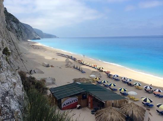 Plage d'Egremni : beach