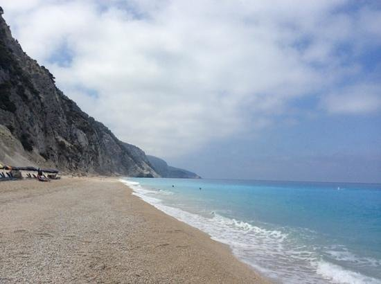 Plage d'Egremni : eggremnoi beach