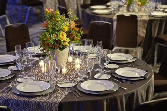 Marina del Rey, Kalifornien: Banquet Table Setup