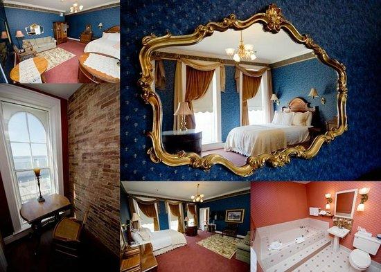 Kingsley Inn : Rm 206 - James Madison Room - Queen w/ river view, spa tub & sleeper sofa