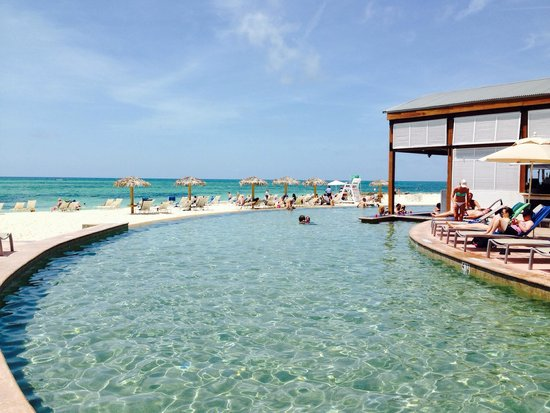 Grand Lucayan Bahamas Great Infinity Pool And Swim Up Bar Right Off The