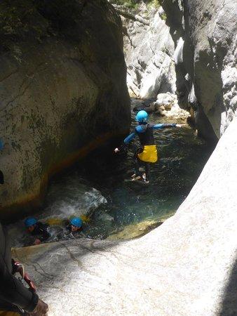 LesGeckos : Descente du canyon de Cramassouri - Tinée