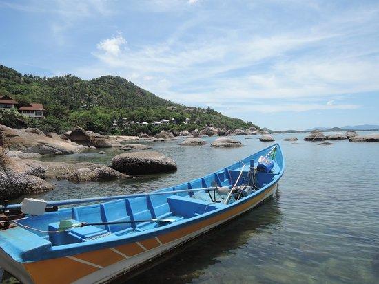 The Kala Samui: hotel boat