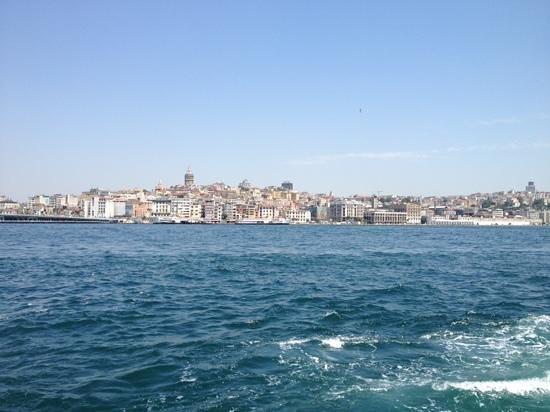 Bosphorus Strait: Karaköy shore