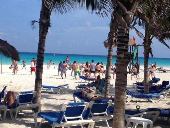Sandos Playacar Beach Resort : Beach
