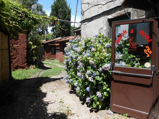 Il retro del ristorante verso i tavoli all 39 aperto foto - Ristorante con tavoli all aperto roma ...