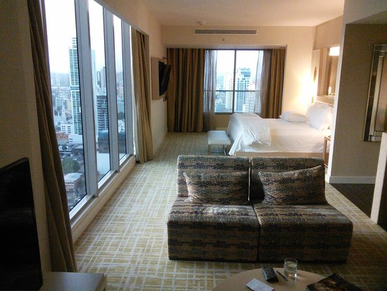 Waldorf Astoria Panama : My suite, which did have great views.
