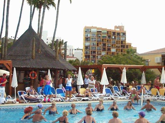 IBEROSTAR Bouganville Playa: animazione in piscina