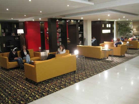 Hotel Duo: Relax area