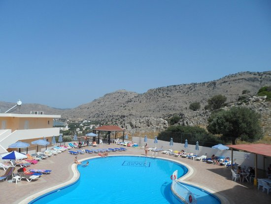 Hotel Ziakis: View from room