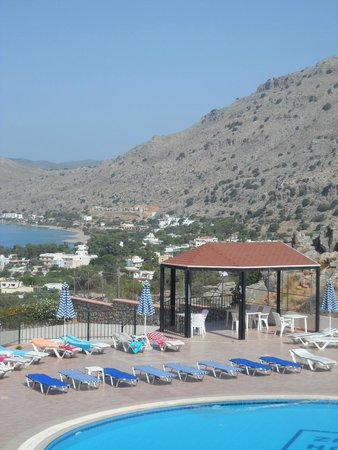 Hotel Ziakis: View from room (zoomed)