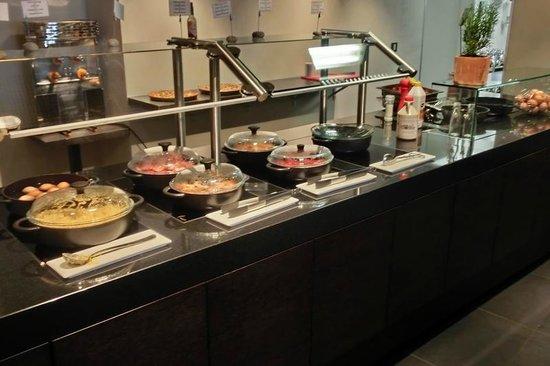 Hotel International : Frühstücksbuffet
